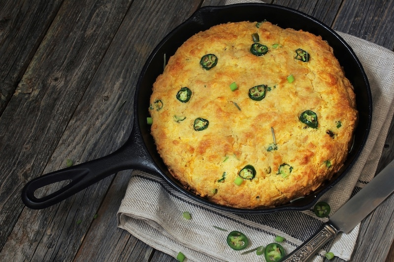 Prepare a Tasty Jalapeño Cornbread Recipe in Your Dutch Oven