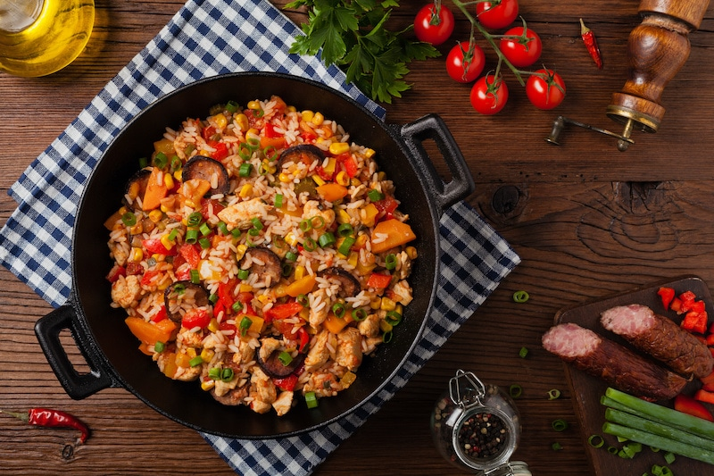 Try This Delicious Dutch Oven Jambalaya Recipe