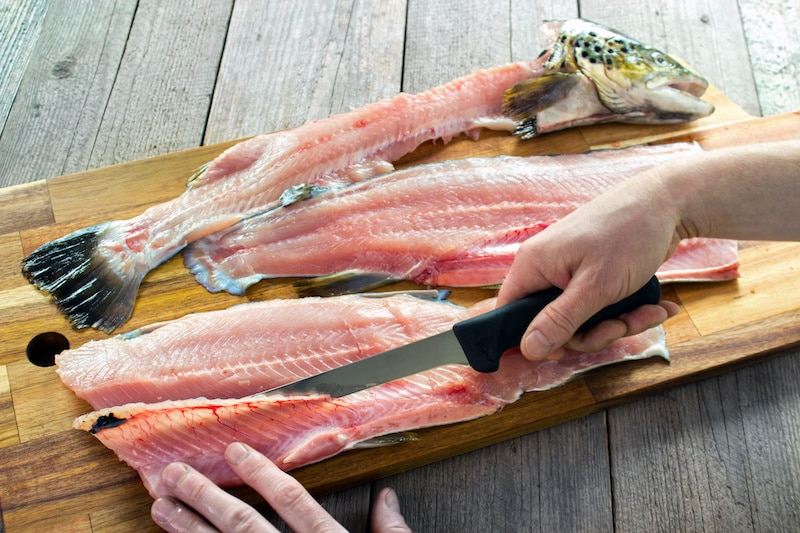 How to Clean and Prep a Fish to Debone and Fillet